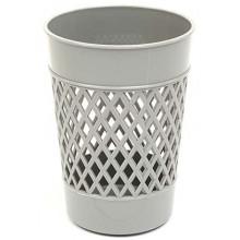 Стакан для канцелярских принадлежностей «Карандашница», 100×75 мм, серый