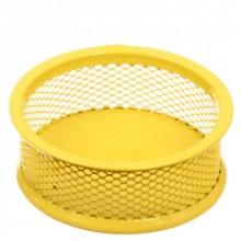 Подставка для мелочей Optima, 95×35 мм, желтая