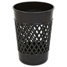 Стакан для канцелярских принадлежностей «Карандашница», 100×75 мм, черный