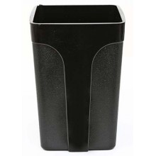 Стакан для канцелярских принадлежностей «Эсир», 100×70 мм, черный