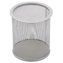 Стакан для канцелярских принадлежностей Forpus, 102×79 мм, серебристый