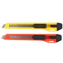 Нож канцелярский Economix, ширина лезвия 9 мм, ассорти (цена за 1 шт.)