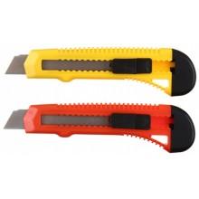 Нож канцелярский Economix, ширина лезвия 18 мм, ассорти (цена за 1 шт.)