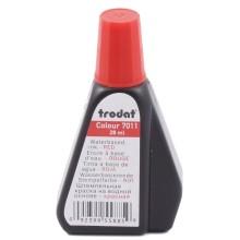 Краска штемпельная Trodat, 28 мл, красная