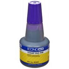 Краска штемпельная Economix, 30 мл, фиолетовая