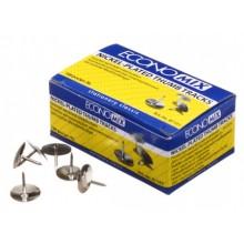 Кнопки Economix, диаметр 10 мм, 100 шт.