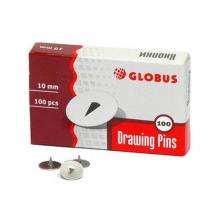 Кнопки, 100 шт., диаметр 10 мм, арт. К10-100