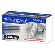 """Скобы для степлера """"Kangaro"""", №24/6, 1000 шт."""