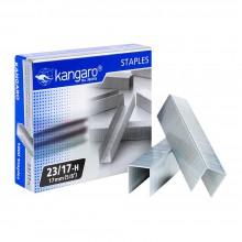 """Скобы для степлера """"Kangaro"""", №23/17, 1000 шт."""