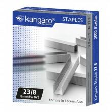 """Скобы для степлера """"Kangaro"""", №23/8, 2000 шт."""