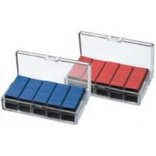 Скобы для степлера Kanex, №10, 1000 шт., цветные