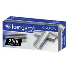 """Скобы для степлера """"Kangaro"""", №23/6, 1000 шт."""