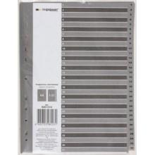 Разделители для регистраторов пластиковые inФормат, 31 л., индексы по датам (1-31)