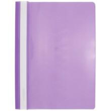 Папка пластиковая со скоросшивателем А4 inФормат, толщина пластика 0,18 мм, фиолетовая