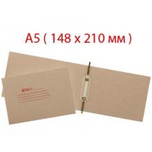 Папка картонная «Дело» со скоросшивателем, А5, ширина корешка 30 мм, плотность 428 г/м², серая