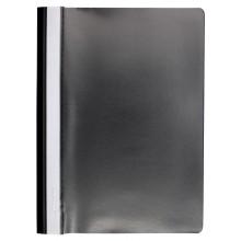 Папка пластиковая со скоросшивателем А4 inФормат, толщина пластика 0,18 мм, черная