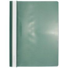 Папка пластиковая со скоросшивателем А4 inФормат, толщина пластика 0,15 мм, зеленый