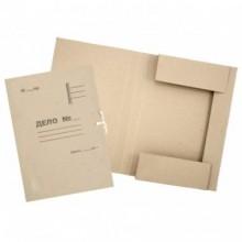 Папка картонная для бумаг «Дело» на завязках ширина корешка 30 мм