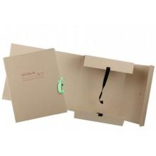 Папка картонная на завязках «Дело», А4, плотность 620 г/м², ширина корешка 150 мм, серая