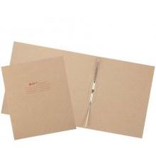 Папка картонная «Дело» со скоросшивателем, А4, ширина корешка 80 мм, плотность 620 г/м², серая