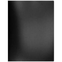 Папка пластиковая с пружинным скоросшивателем inФормат, толщина пластика 0,5 мм, черная