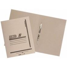 Папка картонная «Дело» со скоросшивателем, А4, плотность 530 г/м², серая