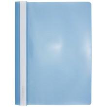 Папка пластиковая со скоросшивателем А4 inФормат, толщина пластика 0,18 мм, голубая