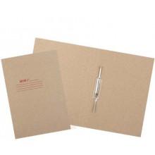 Папка картонная «Дело» со скоросшивателем, А4, ширина корешка 30 мм, плотность 428 г/м², серая, Стандарт