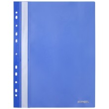 Папка пластиковая со скоросшивателем А4 Stanger, толщина пластика 0,18 мм, синяя