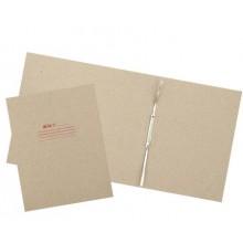 Папка картонная «Дело» со скоросшивателем, А4, ширина корешка 100 мм, плотность 620 г/м², серая