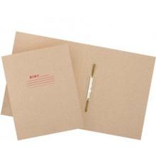 Папка картонная «Дело» со скоросшивателем, А4, ширина корешка 30 мм, плотность 620 г/м², серая, Премиум