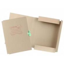 Папка картонная на завязках «Дело», А4, плотность 428 г/м², ширина корешка 40 мм, серая