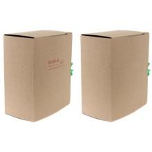 Папка картонная со скоросшивателем на завязках, А4, ширина корешка 150 мм, плотность 620 г/м², серая