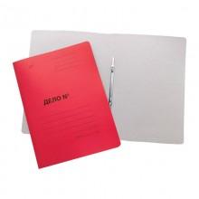 Папка картонная «Дело» со скоросшивателем цветной, пл. 530 гр/м