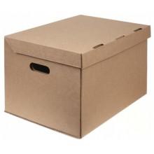 Короб архивный из гофрокартона, 450×340×295 мм