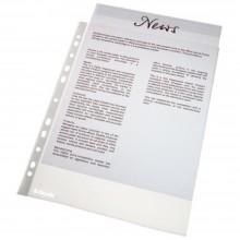 Файл A4 перфорированный «Esselte», 45 мкм, текстурированный, матовый, (цена за 1 упаковку — 100 шт.)