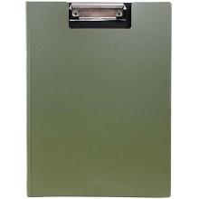 Планшет с крышкой Index, толщина 0,7 мм, оливковый