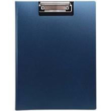 Планшет с крышкой Index, толщина 0,7 мм, темно-синий