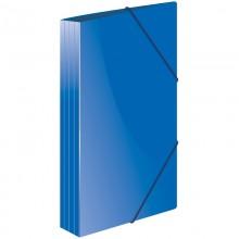"""Папка пластиковая на резинке Berlingo """"Standard"""" А4, 600мкм, синяя"""