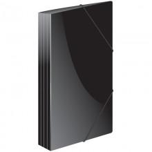 """Папка пластиковая на резинке Berlingo """"Standard"""" А4, 600мкм, черная"""