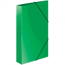 """Папка пластиковая на резинке Berlingo """"Standard"""" А4, 600мкм, зеленая"""