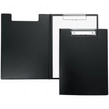 Папка-планшет с зажимом Berlingo А4, пластик, черный