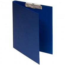 Папка-планшет с зажимом OfficeSpace А4, бумвинил, синий
