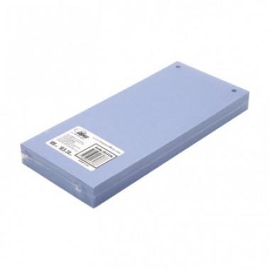 Разделители для регистраторов картонные Forpus, 105×240 мм, 100 шт., синие
