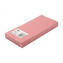 Разделители для регистраторов картонные Forpus, 105×240 мм, 100 шт., красные