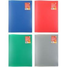 Папка пластиковая на 20 файлов Sponsor, толщина пластика 0,4 мм, ассорти (цена за 1 шт.)