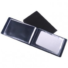 Визитница Panta Plast на 24 визитки, темно-синяя