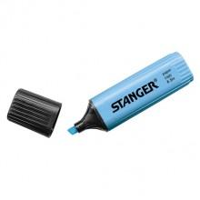 Маркер-текстовыделитель Stanger, синий