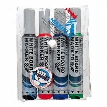 """Набор маркеров для доски Pentel """"Maxiflo"""" (4 цвета)"""