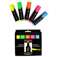 Набор маркеров-текстовыделителей Laco TM50/5, 5 цветов